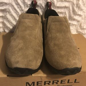 Merrell Jungle Moc Classic Taupe Size 5 youth